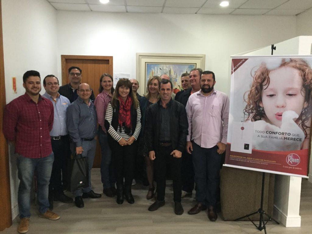 IMG 20160513 WA0023 1024x768 - Apresentação da Nova Linha de Aquecedores Digitais para os Associados AECIA - Santa Catarina
