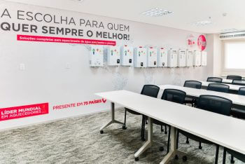 Ambientes Rheem1 350x234 - Novo escritório da Rheem no Brasil !