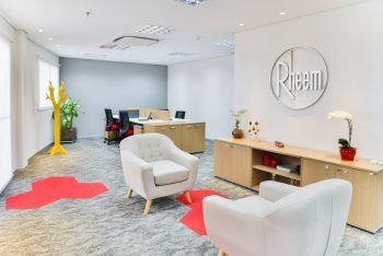 Ambientes Rheem27 350x234 - Novo escritório da Rheem no Brasil !
