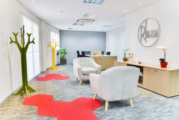 Ambientes Rheem31 1 350x234 - Novo escritório da Rheem no Brasil !