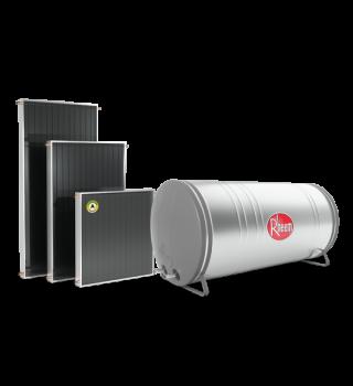 Reservatório e Paineis juntos menor resolução 320x350 - Coletor Solar - Prestige