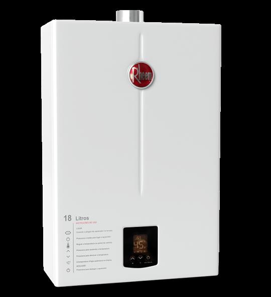 aquecedor de passagem digital 18 litros - Aquecedor Digital 18 Litros