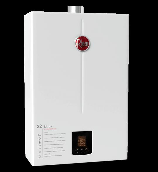 aquecedor de passagem digital 22 litros - Aquecedor Digital 22 Litros