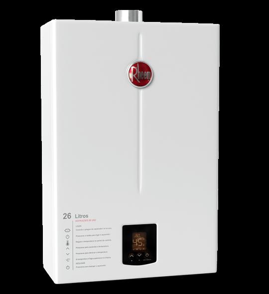 aquecedor de passagem digital 26 litros - Aquecedor Digital 26 Litros