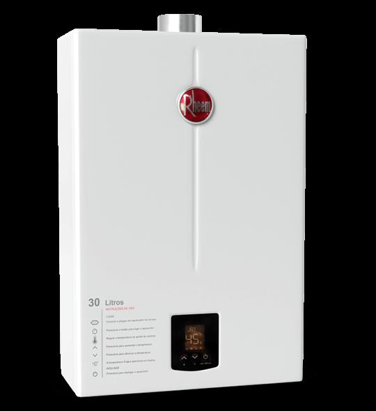 aquecedor de passagem digital 30 litros - Aquecedor Digital 30 Litros