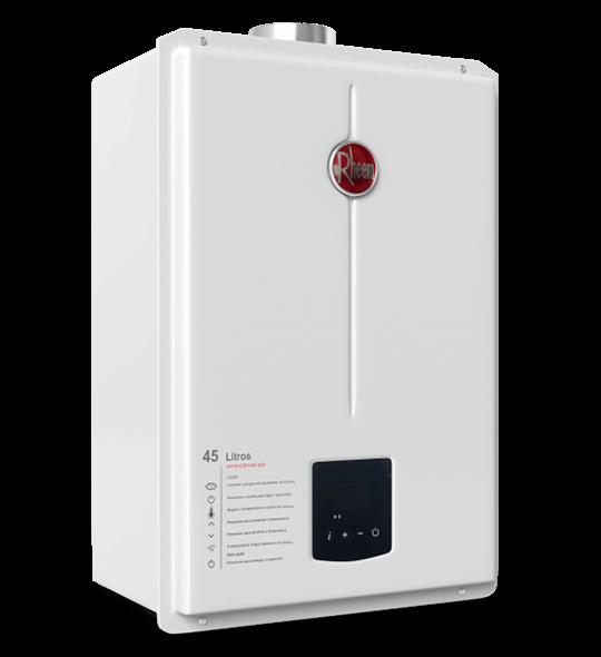 aquecedor de passagem digital 45 litros - Aquecedor Digital 45 Litros