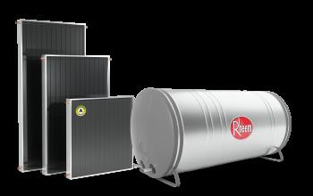 Reservatório e Paineis juntos 350x220 - Coletor Solar - Classic