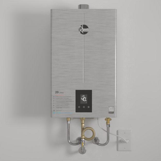 INOX Rheem 2 624x624 - Novidade Rheem: Aquecedor de água a gás 20 litros